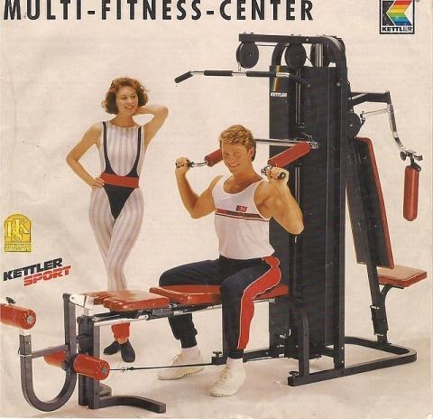 - (Fitnessgerät, kettler, Kraftstation)