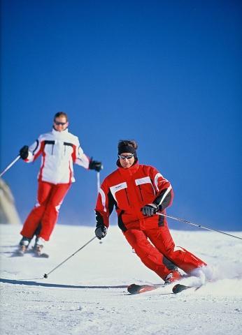 Bilduntertitel eingeben... - (skifahren, Ski, Carving)