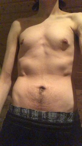 - (dünn, Skinny Fat)