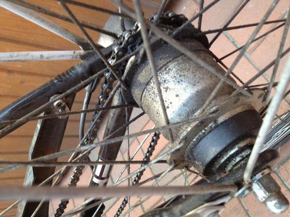 Fahrradnabe Reinigen