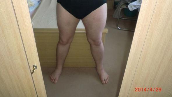Beine - (Muskeln, fett, Beine)