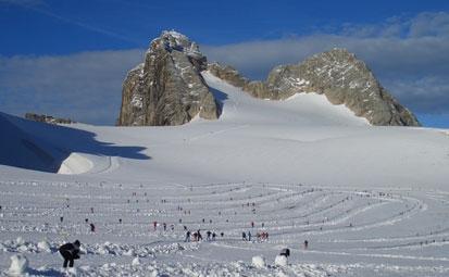 Bilduntertitel eingeben... - (Langlauf, Skilanglauf, Gletschertraining)