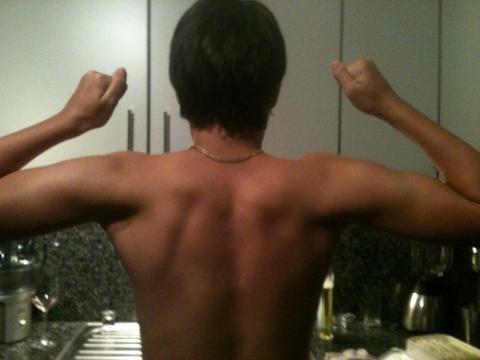 - (Training, Muskeln, Rücken)