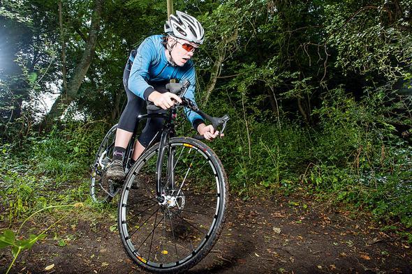Handhaltung beim Rennradlenker