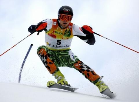 Bilduntertitel eingeben... - (skifahren, Ski, Skistock)