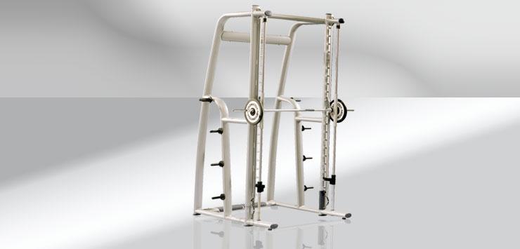 hantelbank mit schiene krafttraining fitnessstudio. Black Bedroom Furniture Sets. Home Design Ideas
