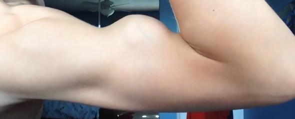 Ich mit 14 - (Muskelaufbau, Muskeln)