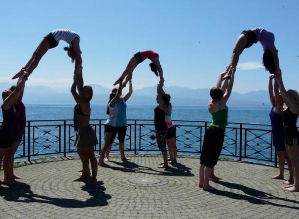 Weltymnaestrada Lausanne - (Turnen, tanzen, akrobatik)