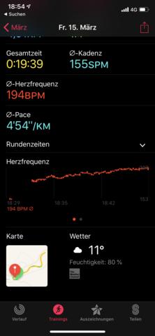 - (laufen, Jogging, Bestzeit)