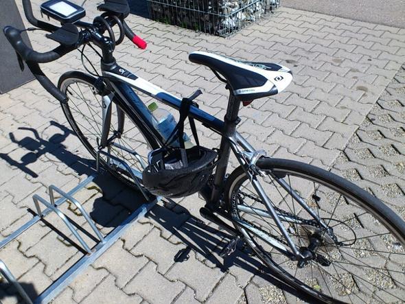 mein Rennrad Scott Contessa  - (Rennrad, Wettkampf, Triathlon)