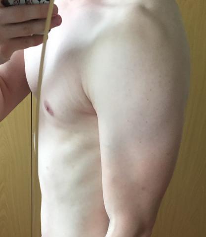 Trizeps ist gut gewachsen - (Training, Muskelaufbau, Bizeps)