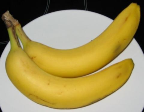 Bilduntertitel eingeben... - (Ernährung, Essen, Banane)