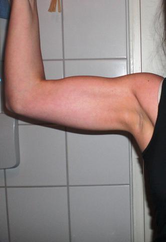 angespannt - (Sport, Muskelaufbau, Muskulatur)