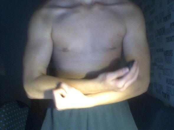 Oberkörper okay? (Muskeln aufbauen, 14 jahre, Entwicklung)