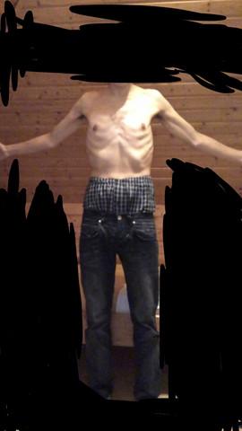 - (Muskelaufbau, Körper, körpertyp)