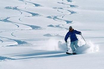 Bilduntertitel eingeben... - (skifahren, Ski Pulverschnee, Ski Teifschnee)
