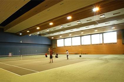 Bilduntertitel eingeben... - (Tennis, Tennishalle, leipzig)