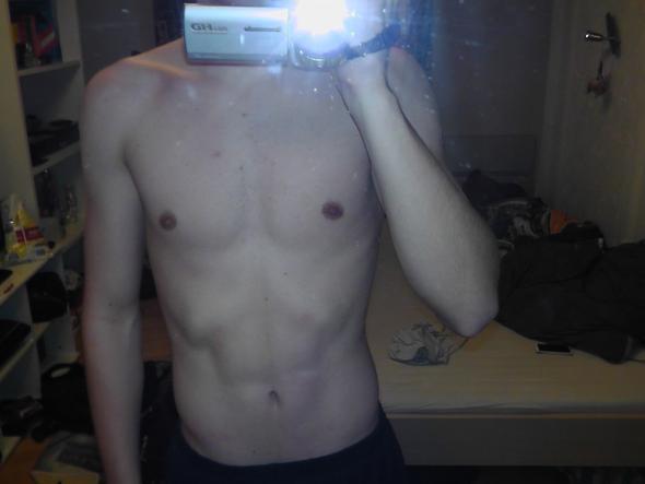 vor april.ca  - (Muskeln, Massephase)