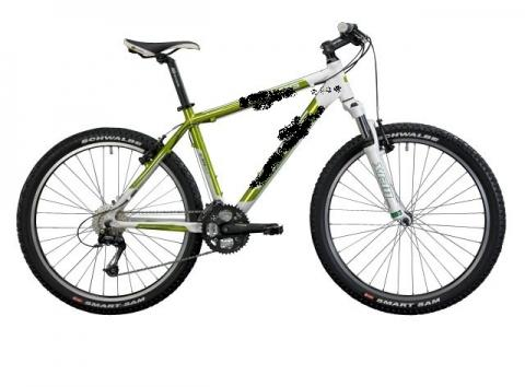 - (Mountainbike, Federgabel, Hardtail)