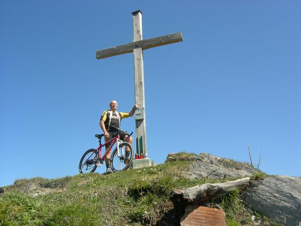 Mein Hausberg, der Hochglocker - (Mountainbike, Bier)