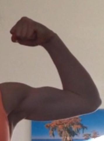 mein linker Arm - (Muskeln Mädchen, Mädchen Muskeln)